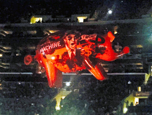 ライブで「トランプは豚」 ピンク・フロイド元メンバー