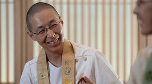 僧侶で看護師の玉置妙憂さん=迫和義撮影