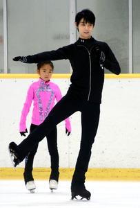 羽生結弦「おっさんも頑張るよ」 スケート教室で交流