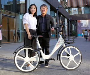 中国シェア自転車に深澤直人さんモデル 北京で発表