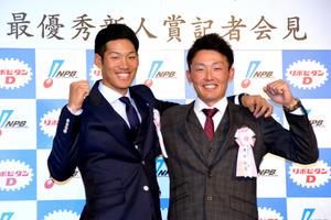新人王に西武・源田と中日・京田 21年ぶりセ・パ野手