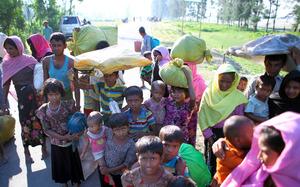 ロヒンギャ殺害、1カ月で6700人か 子ども多数犠牲