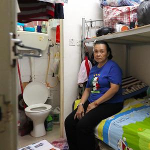 香港、10平方mで家賃6万円 低所得者層の「中央値」