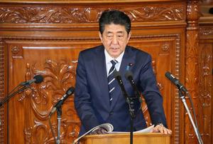 首相、佐川国税長官は「適材適所」 議場から「ええー」