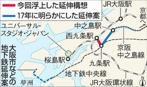 京阪の西九条延伸構想が再燃 USJへ便利に、誘客狙う