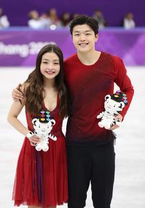 「ハルミとヒデオ」アジア系初のメダル アイスダンス