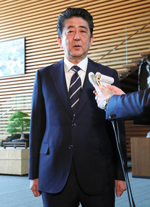 菅氏「入邸記録破棄」 加計氏と首相の面会、確認できず