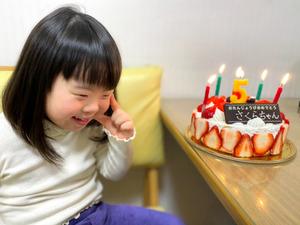 今年1月、さくらちゃんは5歳の誕…