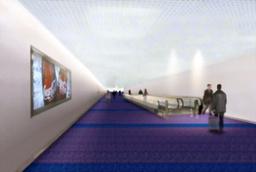 写真:羽田第1ビルの出発ゲートの改装イメージ=日本空港ビルデング提供