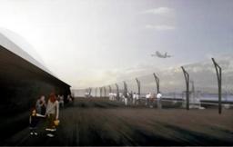 写真:羽田第1ビルの展望デッキの改装イメージ=日本空港ビルデング提供