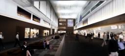 写真:羽田第1ビルの出発ロビーの改装イメージ=日本空港ビルデング提供