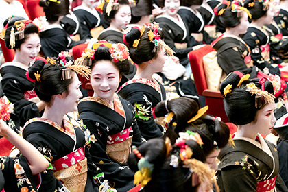 【Asahi.com article】【Today's English】In this Olympic year, geisha, 'maiko' renew vow of artistry