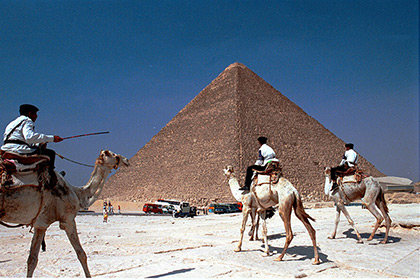 【Asahi.com article】【Today's English】Team to re-scan Great Pyramid of Giza to pinpoint hidden chamber