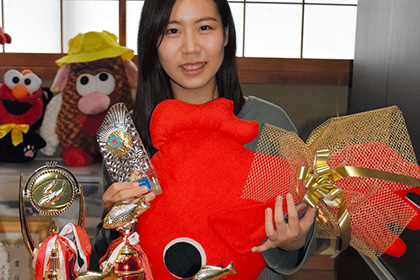 【Asahi.com article】【Today's English】Teen uses her goldfish scooping skills to net her a university spot