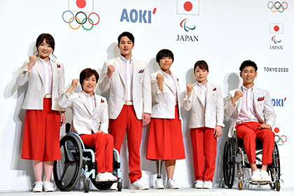 【Asahi.com article】【Today's English】Comfy and cool: Uniforms for Games' athletes unveiled