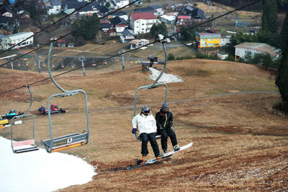 【Asahi.com article】【Today's English】Lack of snow takes business at ski resorts on a downhill slide