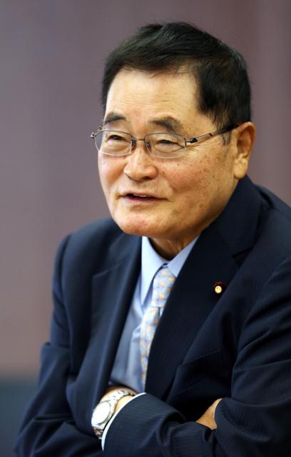衆院議員・亀井静香さん