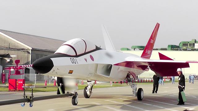 防衛省が開発した「日の丸ステルス機」=同省技術研究本部提供(画像の一部が... 国産初のステルス