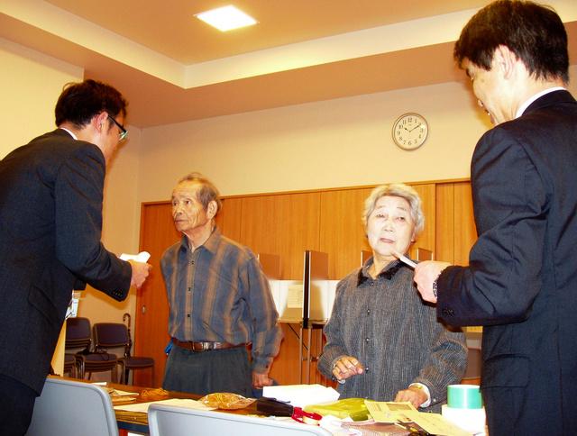 先で福島県知事選の不在者投票 ...
