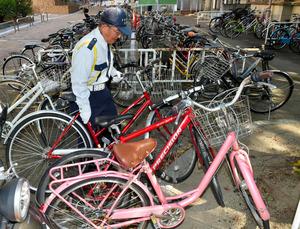 自転車の 自転車 撤去 京都 : ... 京都市左京区の京都大、戸村登