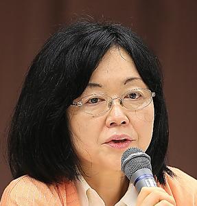 写真・図版 江川紹子委員  (信頼される新聞をめざして)信頼回復と再生のための委員会 第4回会合