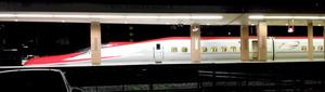 秋田新幹線E6系=JR秋田駅