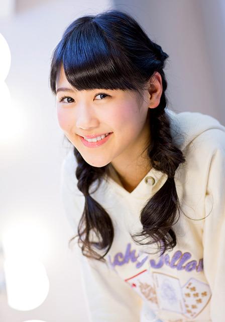 15歳。静岡県出身。明るくて活発な妹キャラ。バラエティー番組では積極的な発言が目立つ=遠崎智宏撮影
