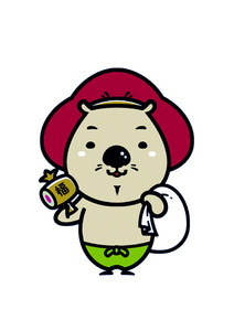 写真・図版 池田市のイメージキャラクター「ふくまる」=池田市提供 子どもたちの郷土愛... 大阪