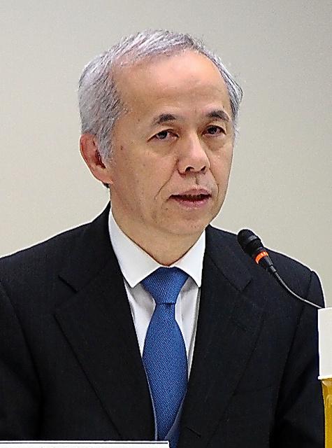 原子力規制委員会に出席した広瀬直己社長