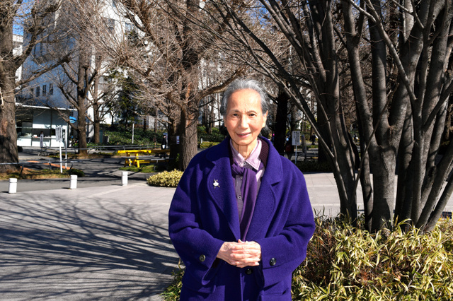 ヨネヤマママコさん=横浜市港北区