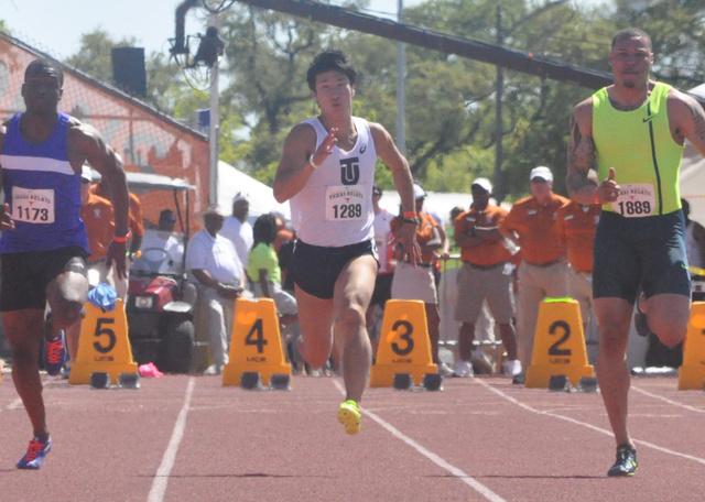 ... 男子 100m 2015 03 29 陸上 の 男子