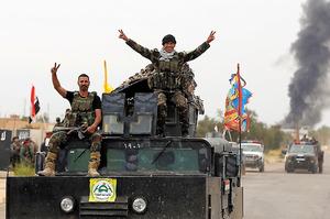 ... のイラク中部都市 米報道官