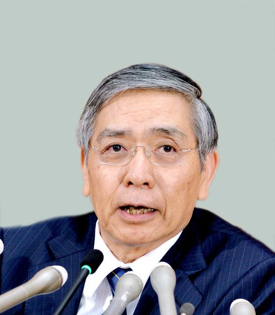 黒田東彦・日本銀行総裁