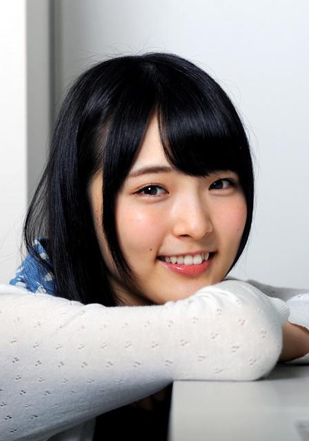 16歳。AKB48劇場などでの地道な活動が評価されて今月の選抜総選挙で初ランクイン=横関一浩撮影