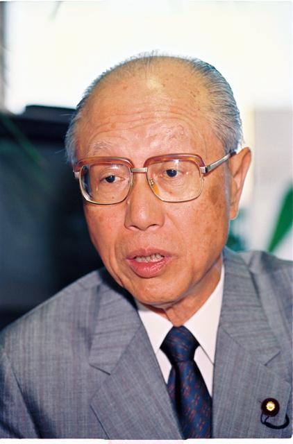 田辺誠・元社会党委員長