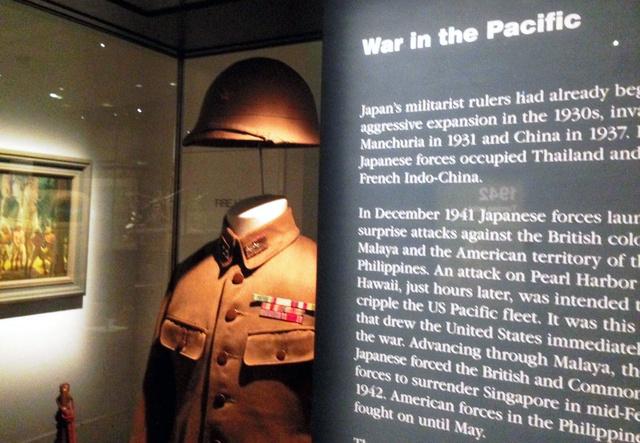 キャンベラのオーストラリア戦争記念館には、二つの世界大戦やベトナム戦争、イラク戦争など、オーストラリアが参戦したあらゆる戦争の資料がある