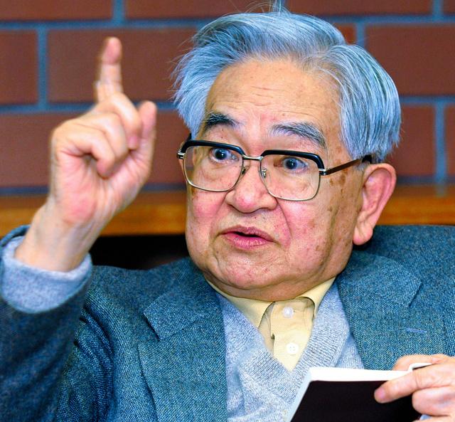 鶴見俊輔さん死去 「思想の科学...