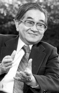 鶴見俊輔さん=1985年撮影
