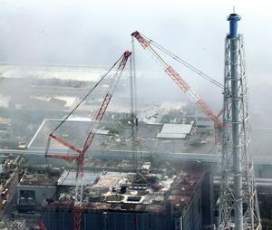 福島第一3号機プール、巨大がれきの撤去作業終了