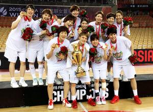 バスケ日本女子、3大会ぶり ...