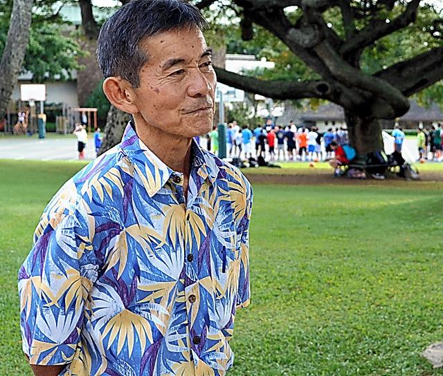 ハワイの教師、エリック・クスノキ