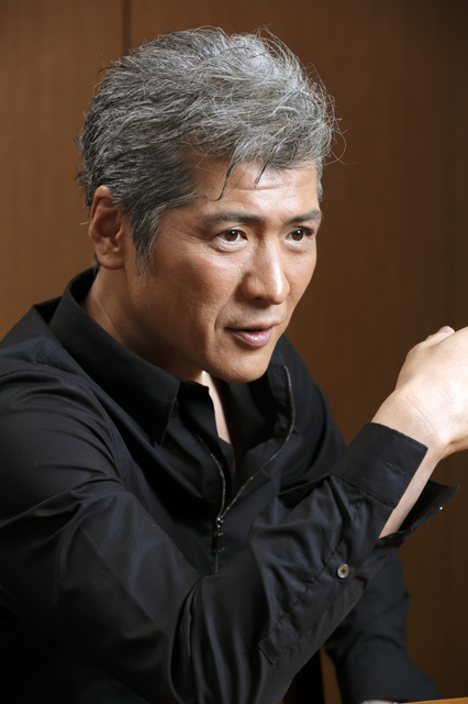 ドラマ「下町ロケット」に出演する歌手・俳優の吉川晃司さん