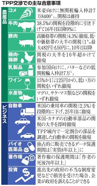 【TPP】安倍首相「約束はしっかり守ることができた」 ★3 [転載禁止]©2ch.net YouTube動画>14本 ->画像>72枚