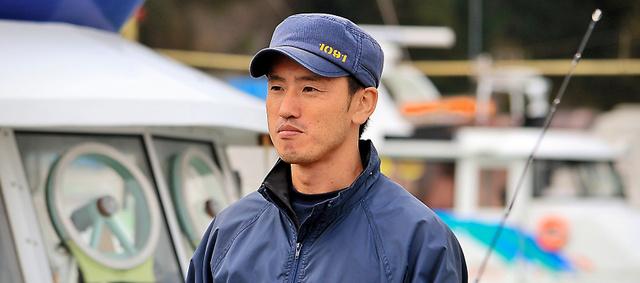 相馬双葉漁業協同組合富熊地区代表・石井宏和さん=福島県いわき市、岡本進撮影