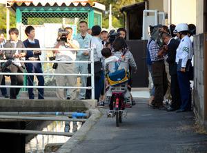 自転車の 自転車 岡山 : 岡山)自転車ご注意、用水路 ...