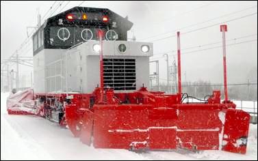 除雪車=JR北海道提供
