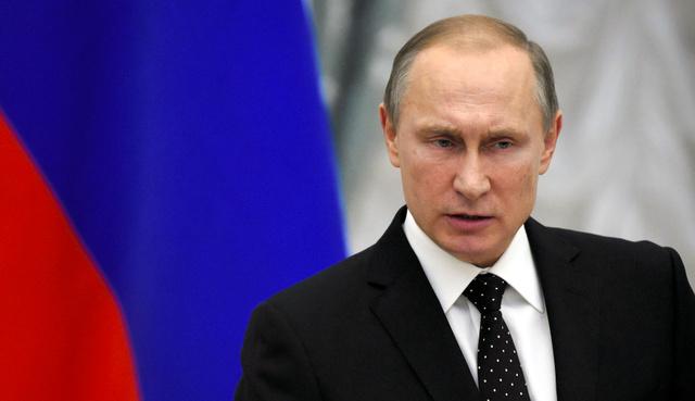 ロシアのプーチン大統領=26日、AFP時事