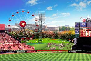 ゴンドラから野球観戦OK 楽天、進むボールパーク構想