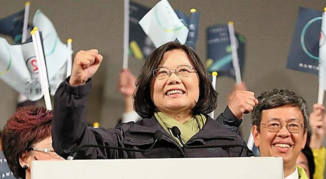 台湾の新総統