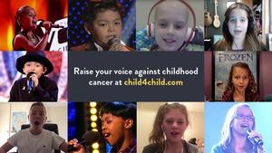 Child Cancer International(CCI)のキャンペーン「child4child」への参加の呼びかけ=CCI提供